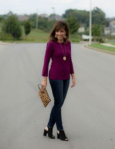 26 Days of Fall Fashion: Old Navy Bell Sleeve Top Styled Two Ways