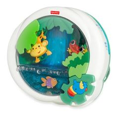 Fisher Price® Rainforest™ Waterfall Peek-a-Boo Soother™ - buybuyBaby.com #Rhoost #buybuyBaby