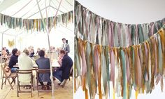 DIY stoffenslinger voor je bruiloft - Girls of honour DIY stoffenslinger voor je bruiloft - Girls of honourSummer Daisy Party on OpenSkyTry this bbq wedding party inspiration 100 ideas pompons et bo. Daisy Party, Valentines Day For Him, Fabric Garland, Wedding Girl, Festival Party, Diy Kits, Garden Inspiration, Diy For Kids, Most Beautiful Pictures