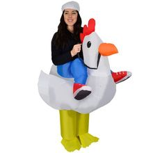 9134a1f9d Good Shop Purim Halloween Airblown Inflatable Chicken Costume Adult Rooster  Cock Fancy Dress Cosplay Hen Stag