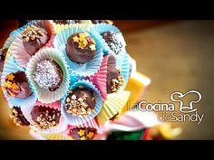 Bombones de chocolate licor y cerezas para dia de San Valentin - YouTube
