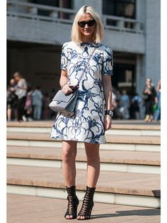 Street Style at Spring 2014 Fashion Week - NYFW Street Style Pictures - Marie Claire