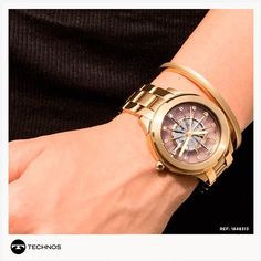 """Safira - É pra você. on Instagram  """"As tendências de moda não ficaram de  fora da coleção Essence da Technos, as versões dourada e rosé acompanham um  ... 3ec5c2106d"""
