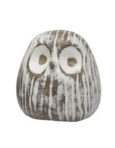 Archer Owl Figurine