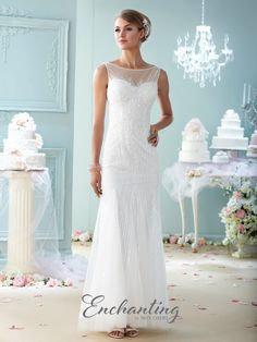 Enchanting - 215113 - All Dressed Up, Bridal Gown