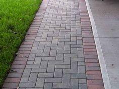 brick sidewalk | Brick Walkways Concrete Walkways Entrance Ways Interlocking Pavers for ...