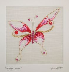 Embroidery.  Absolutely beautiful.  Check out the site for larger pictures.