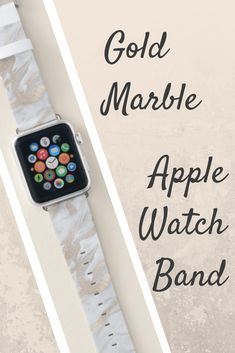 Shop Gold Marbled Look Apple Watch Band created by DizzyDebbie. Best Apple Watch, Apple Watch Series, Apple Watch Bands Gold, Best Mothers Day Gifts, Gold Marble, Sale Promotion, Series 4, Fitness Tracker, Smartwatch