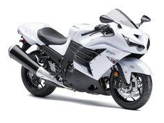 2013 Kawasaki ZX14 in Pearl White