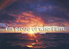 and that's who I am♡