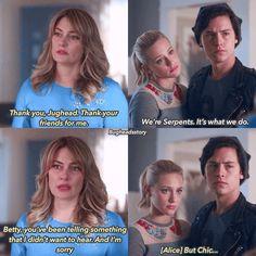 Riverdale ❤️ Season 2 Ep 17  Alice 😭