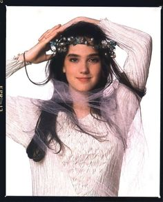Sarah Williams (Jennifer Connelly) in Labyrinth 1986. #labyrinth #jenniferconnelly