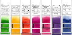 Colors, fabulous resource. And suck a kind and generous artist to share all of this information with us.