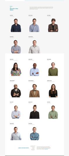 One Design Company is an experienced and passionate group of designers, developers, project managers, writers and artists. Every client we work with becomes… Login Page Design, Flat Web Design, One Design, Design Layouts, Design Ideas, Mise En Page Web, Team Page, Website Design Inspiration, Layout Inspiration