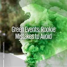 Environmentally conscious events are in-vogue in our industry, but how do you know if you're doing it right? Read our blog to avoid rookie mistakes when planning your next green event.   #event #ecofriendly #green #eventing #nature #innovative #sustainable #planetfriendly #earthfriendly #recycle #reuse #reduce #natural #greener #eventmistakes #responsibleventing #sustainability #eventblog #blog #eventprofs #rookie #worxgroupway #eventfails #carbonfootprint