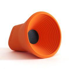 WOW Speaker Orange by KAKKOii #productdesign #industrialdesign