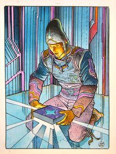 STARWATCHER par Moebius - Illustration