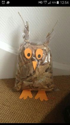 Pojedynczy Post - Fall Crafts For Toddlers Autumn Crafts, Fall Crafts For Kids, Nature Crafts, Toddler Crafts, Diy For Kids, Kids Crafts, Diy And Crafts, Arts And Crafts, Owl Crafts
