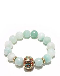 Product Name Devoted Jewelry Amazonite Tibetan Stretch Bracelet Made In USA at Modnique.com