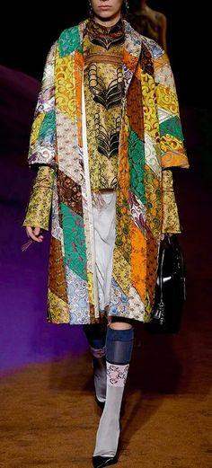 Miuccia Prada's Coat of Too Many Colors