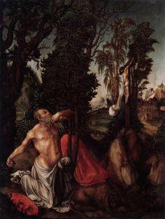 Cranach l'Ancien - Renaissance - Saint Jérôme dans le désert (1502)