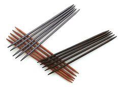 """7"""" Ebony Double Point Needles"""