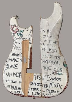 The guitar that Hendrix smashed at The Saville Theatre in front of Paul McCartney, amongst many others.