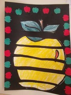 Reconstituer une pomme en arts visuels Apple Art Projects, Fall Art Projects, Arts And Crafts For Teens, Art For Kids, Crafts For Kids, Autumn Crafts, Autumn Art, 1st Grade Crafts, Wolf Craft