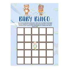 Cute Woodland Teddy Bear Baby Shower Bingo Card Cute Baby Shower Games, Baby Shower Bingo, Baby Shower Themes, Baby Shower Invitations, Baby Shower Gifts, Shower Ideas, Newborn Christmas Photos, Flamingo Baby Shower, Teddy Bear Baby Shower