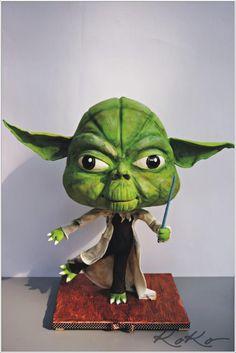 Yoda - Cake by KoKo