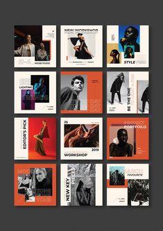 Glasses Poster Design Project Graphic Design Inspiration by Zeka Design Web Design, Grid Design, Graphic Design Layouts, Graphic Design Posters, Graphic Design Inspiration, Layout Inspiration, Instagram Design, Instagram Feed Layout, Instagram Grid