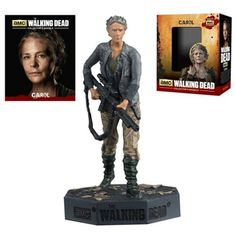 The Walking Dead Eaglemoss Carol Collector's Model Number 8 Figure