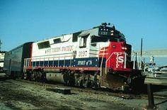 Southern Pacific Bicentennial Locomotive.
