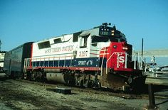 Southern Pacific Bicentennial Locomotive.