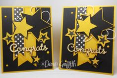Congrats Card using the Star Framelits & Be The Star stamp set video