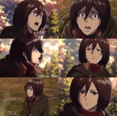 Shin Ah Sama || Mikasa Ackerman**Shingeki No kyojin** Attack On Titan**season 2