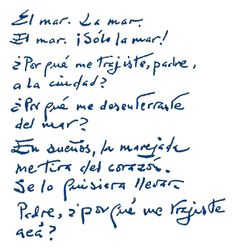 """""""Marinero en tierra"""", Rafael Alberti (Cádiz, 1902 - 1999)."""