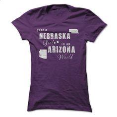 Nebraska Girls in Arizona - #blusas shirt #tee trinken. GET YOURS => https://www.sunfrog.com//Nebraska-Girls-in-Arizona-ladies.html?68278