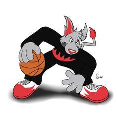 NBA Mascots - Blaze the Trail Cat by Bleuxwolf on DeviantArt