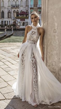 Pinella Passaro 2019 Wedding Dresses Traditional and Innovative - - hairdresserhairstyles.club Pinella Passaro 2019 Wedding Dresses Traditional and Innovative - Casual Wedding Guest Dresses, Dream Wedding Dresses, Wedding Attire, Bridal Dresses, Wedding Gowns, Maxi Dresses, Bridesmaid Dresses, Backless Wedding, Wedding Dresses Halter Top