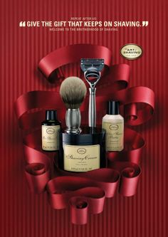 The Art of Shaving: Holiday Campaign, 4