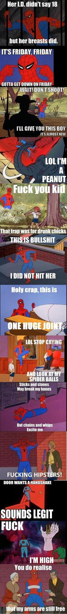 Spider-man gone mad