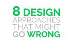 It happens many times that we don't like to agree on certain things when we start our career as a designer as we do a lot of mistakes. Once you get into a company then you get to learn so many things. Here I have compiled few mistakes that designers often commit and they should …
