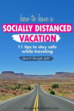 You want to get out on vacation, but also be safe. Here's 11 things you need to know on a socially distanced vacation. Here's exactly what to do before and during your trip! #travel #vacation #roadtrip Travel Advice, Travel Guides, Travel Hacks, Travel Couple, Family Travel, Travel Themes, Travel Destinations, International Travel Tips, Travel Reviews