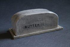 Handbuilt Ceramic Butter Dish by duckdrakestudio on Etsy, $40.00