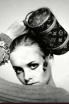 Twiggy and vintage LV