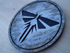 """7"""" Fireflies logo wall art from The Last of Us"""