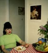 Nan Goldin. Gina at Bruce's Dinner Party, New York City. 1991