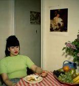 Nan Goldin. Gina at Bruce's Dinner Party, New York City. 1991