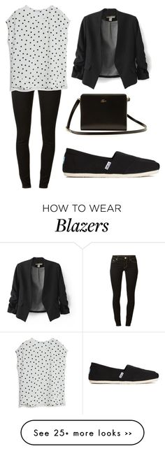 """""""Black Blazer Outfit"""" by fashiontrendsetterforever on Polyvore"""